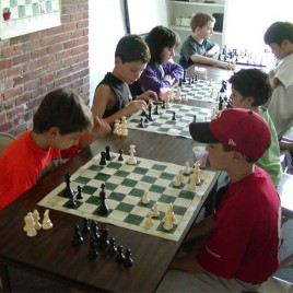 Chess class photo
